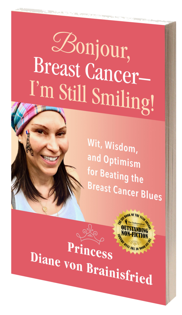 Bonjour, Breast Cancer - I'm Still Smiling! book cover